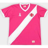 Camiseta Vasco Da Gama Outubro Rosa Masculina - Masculino 0c9ec91ecd2ba