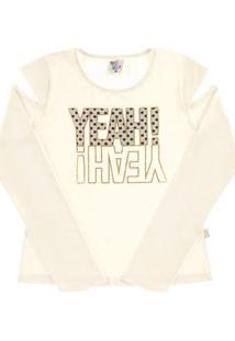 Blusa Juvenil Natural Cotton Feminina - Feminino