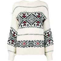 Farfetch. Polo Ralph Lauren Suéter De Tricô - Branco b2cf1102e4a