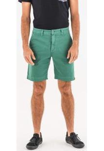 Bermuda Sap Wöllner Masculina - Masculino-Verde