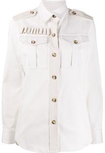 Forte Dei Marmi Couture Jaqueta Com Botões Frontais - Branco
