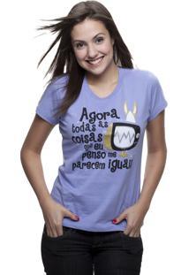 Camiseta C1C Televisão Roxo