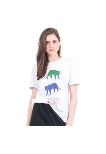 Camiseta Tri Cheetah 41Onze Branco