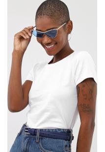 Camiseta Rovitex Lisa Branca - Branco - Feminino - Algodã£O - Dafiti