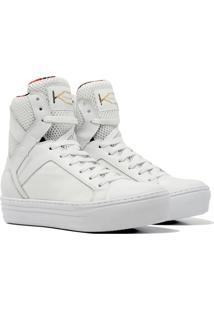 Sneaker K3 Fitness Easy Branco - Kanui
