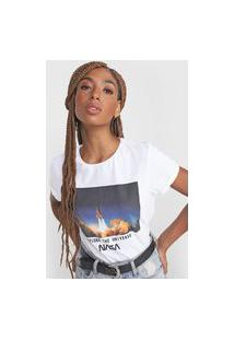 Camiseta Fiveblu Nasa Branco