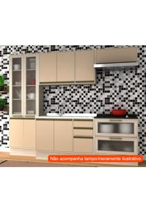 Cozinha Compacta Safira 10 Pt 5 Gv Capuccino E Creme