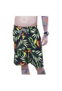 Boardshort Masculino Adulto Sublimado Carapibus Mormaii Verde 42