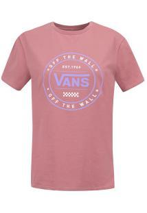 Camiseta Vans Vnb03P4T - Feminina - Rosa