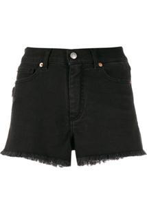Zadig&Voltaire Short Jeans Storm - Preto