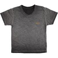 a593da9572 Camiseta Infantil Gola V Visual Radical Masculina - Masculino-Mescla