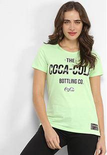 Camiseta Coca Cola The Bottling Co-Feminina - Feminino