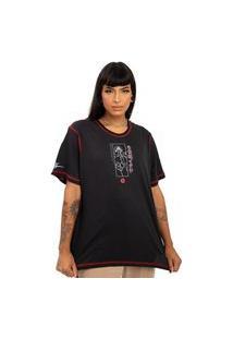 Camiseta Naruto - Itachi Uchiha Preto