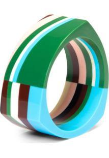Bracelete De Resina Listras