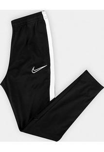 Calça Infantil Nike Academy Dry Fit Kpz - Masculino-Preto+Branco