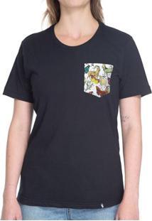 Animais Fletado - Camiseta Clássica Com Bolso
