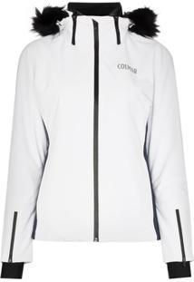 Colmar Jaqueta De Ski Com Capuz - Branco