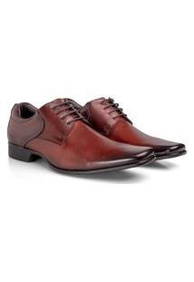 Sapato Social Rafarillo Las Vegas Masculino Couro Conforto Preto 37 Marrom