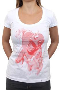 Falling Robot - Camiseta Clássica Feminina