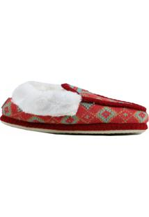 Pantufa Riscen Sapato Vermelho