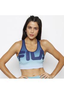 Top Nadador Degrade - Azul Escuro & Azul Clarofila