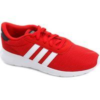 5fc361d9 Tênis Adidas Lite Racer Masculino - Masculino-Vermelho+Branco