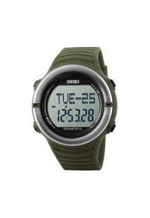 Relógio Digital Skmei -1111- Verde Militar