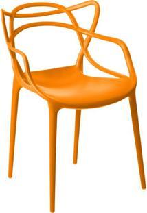 Cadeira Allegra Laranja Rivatti