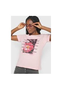 Camiseta Polo Wear Favorite Rosa