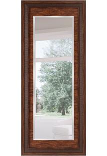 Espelho Decorativo Bergamor 78X188 Cm Tabaco