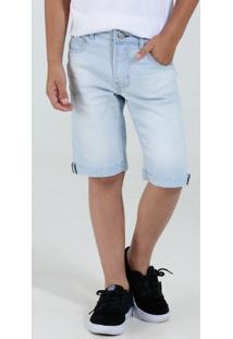 Bermuda Infantil Jeans Claro Marisa