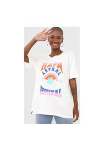Camiseta Cantão Mapa Astral Festival Off-White