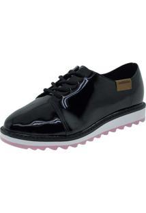 Sapato Infantil Feminino Oxford Molekinha - 2510611 Verniz/Preto 25