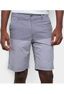 Bermuda Gajang Color Block Masculina - Masculino-Marinho