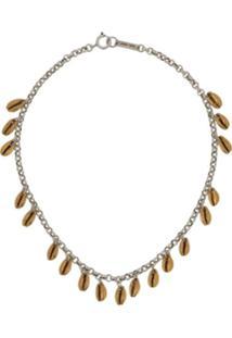 Isabel Marant Amer Necklace - Dourado