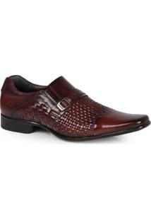 Sapato Social Masculino Rafarillo Textura Tramada