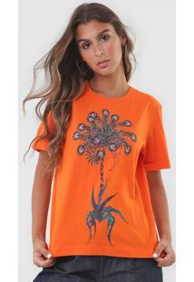 Camiseta Forum Tropical Laranja