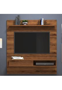 "Painel Tv Até 65"" Santorini 10089 Rústico Terrara - Dj Móveis"