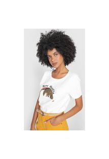 Camiseta Cantão Classic New Outfit Off-White