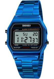 Relógio Skmei Digital Masculino - Masculino-Azul