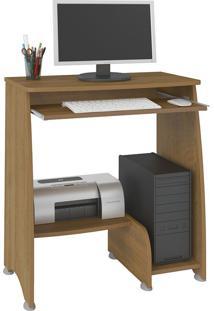 Escrivaninha/Mesa Para Computador Pixel Pinho Com 03 Prateleiras - Artely