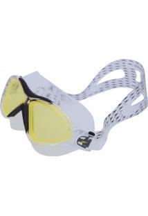 Óculos De Natação Speedo Ômega - Adulto - Preto/Amarelo