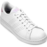 5f60a47862 Tênis Adidas Advantage Feminino - Feminino-Branco