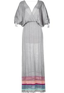 Cecilia Prado Vestido Longo De Tricô - Grey