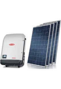 Gerador De Energia Solar Telha Ondulada Centrium Energy Gef-4550Fpms 4,55 Kwp Monofasico 220V Painel 325W String Box