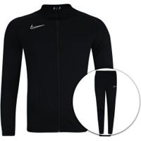 8d096d66eef Agasalho Nike Dry Academy Track Suit K2 - Masculino - Preto Branco
