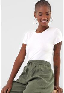 Camiseta Rovitex Flamê Off-White - Kanui