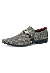 Sapato Social Gofer Cinza