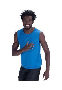 Camiseta Regata Oxer Basic Light - Masculina - Azul