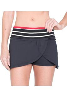 Saia Shorts Red Nose Ret Red Feminina - Feminino-Preto